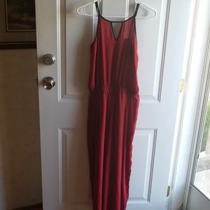 Chris and Carol red size small romper
